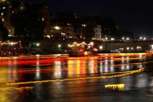 Donauufer Nachts