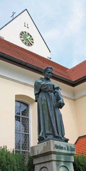 Abraham a Sancta Clara-Denkmal