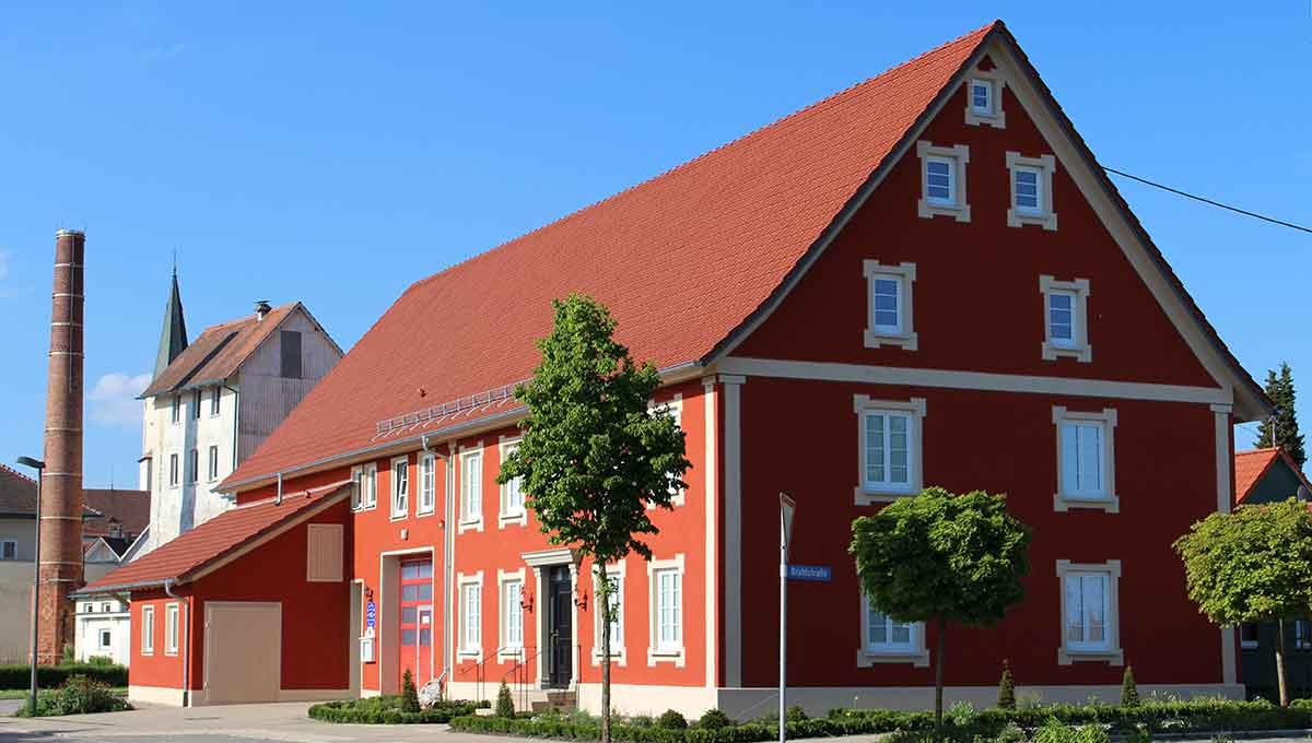 rotes Haus in Hettingen-Inneringen
