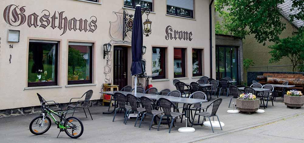 Terrasse Krone Rußberg