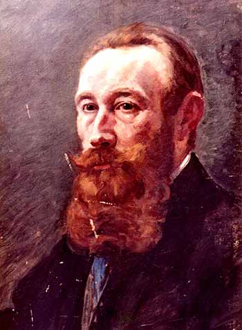 gemaltes Porträt