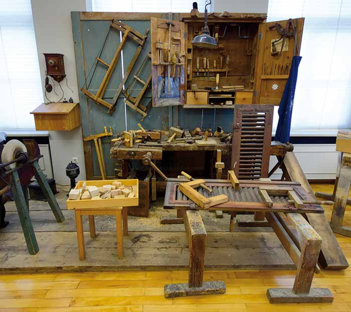 Werkzeug einer alten Schreinerei