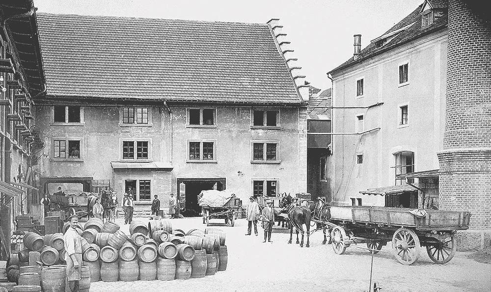 Historisches Brauereifoto