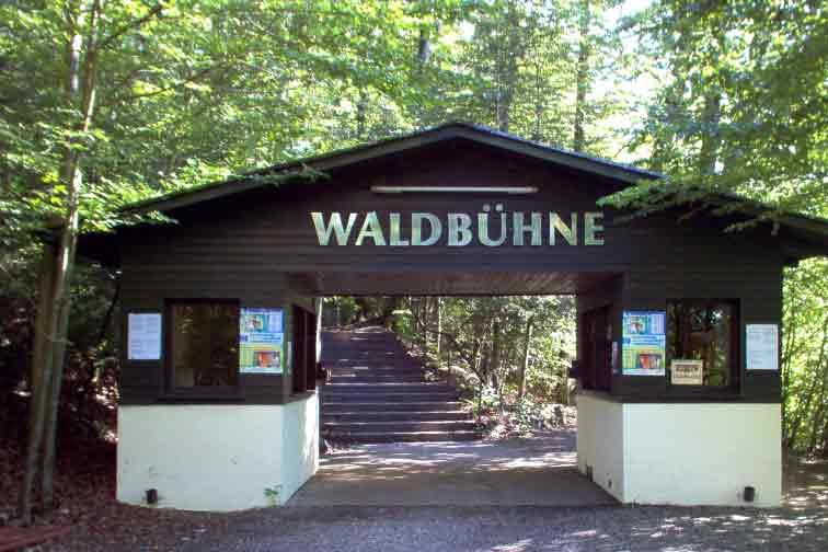 Eingang zur Waldbühne
