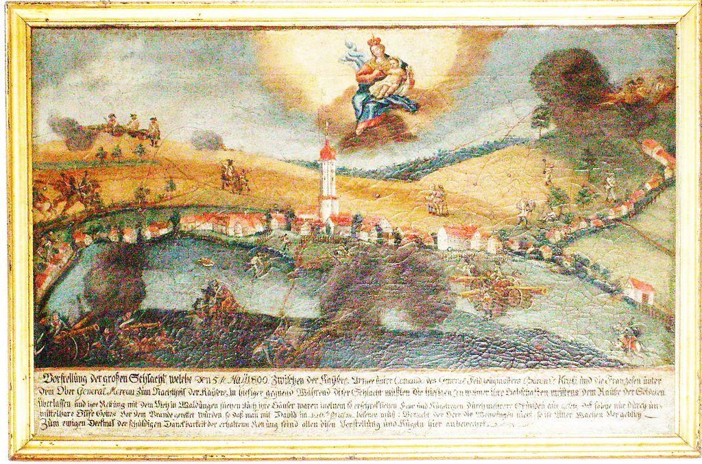 Votivbild Schlacht bei Messkirch