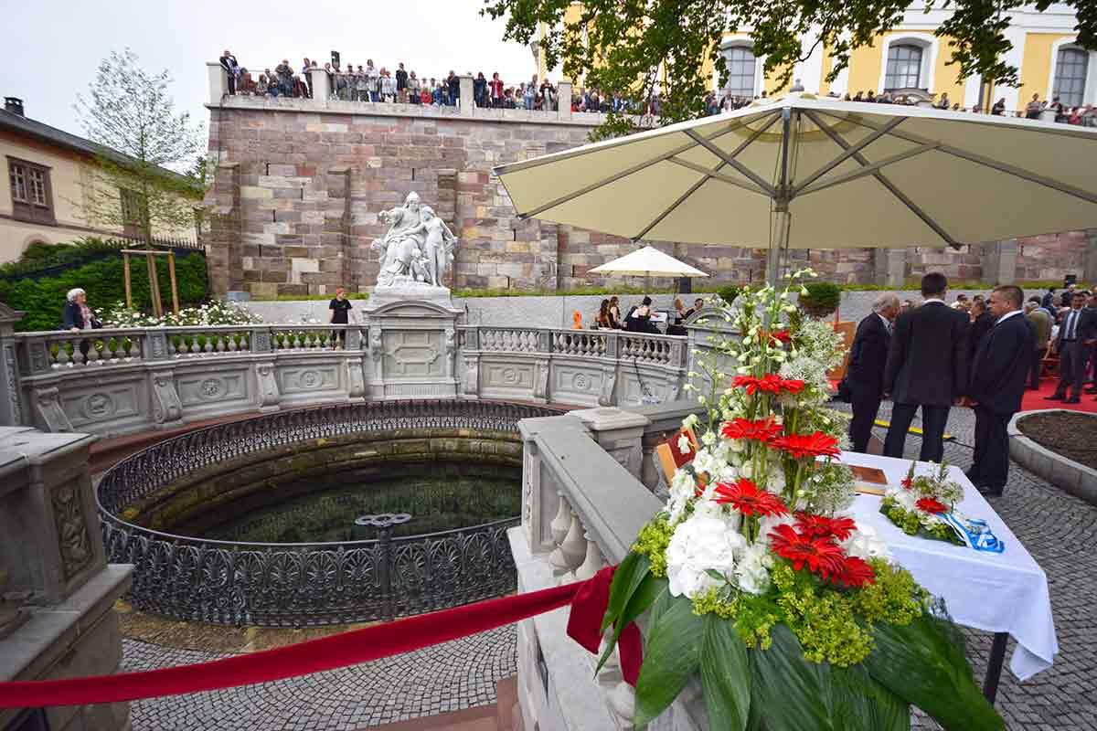 Beim Donauquellfest 2016