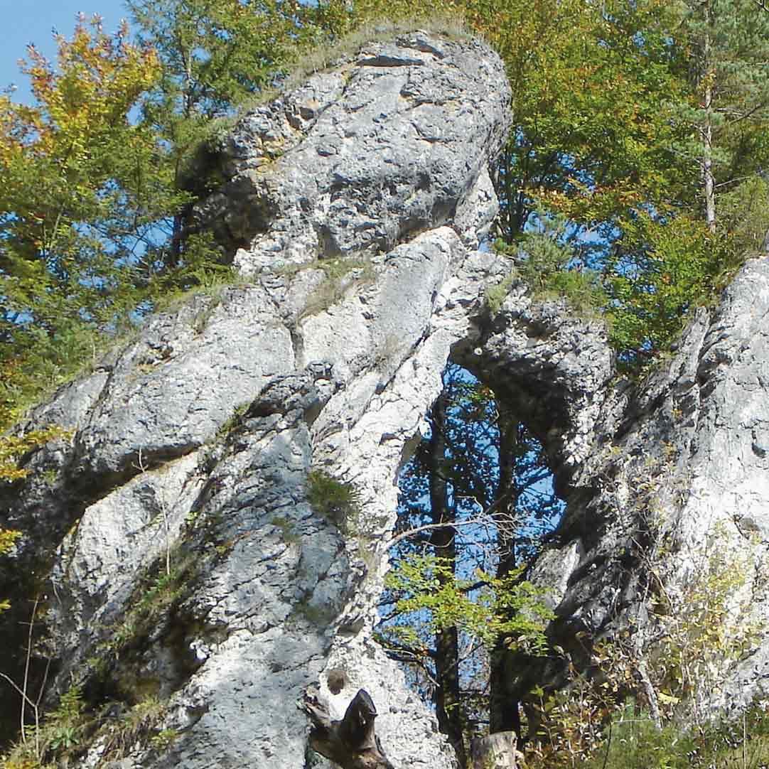 Felsentor in Bärenthal