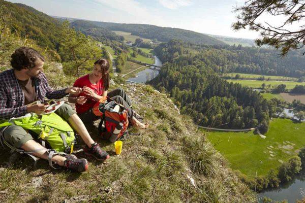 2017 08 14 SIG PA1 Aktiv Wanderer 15x10cm 300dpi Bildnachweis Stadt Sigmaringen