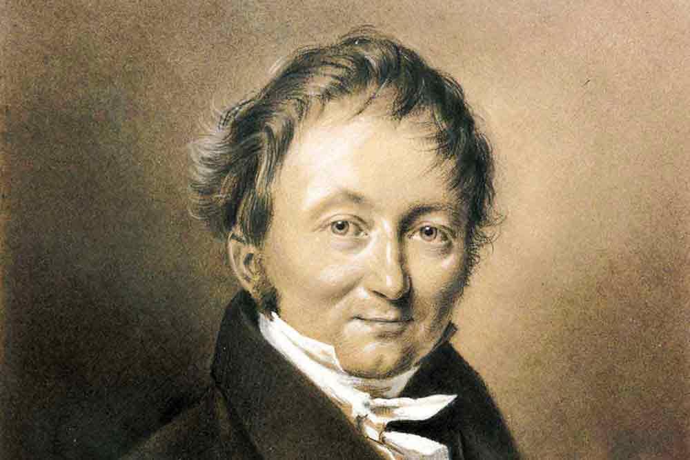 Karl Drais Porträt
