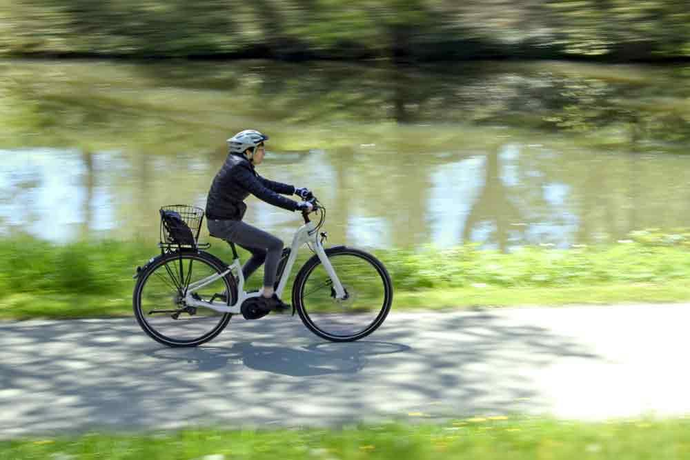 E-Bike an der Donau in Tuttlingen