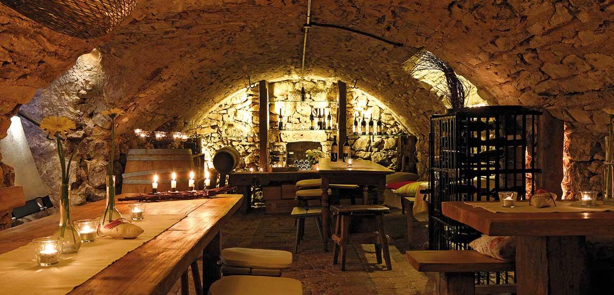 Gewölbekeller Weinblicke im Adler Leibertingen