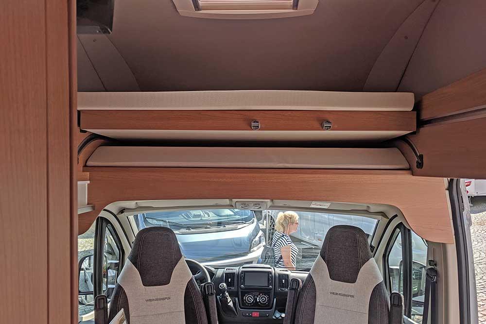 Hochbett im Weinsberg Carabus 600 MQH