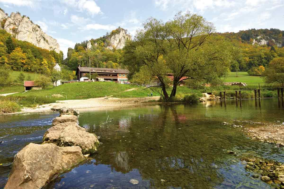Jägerhaus an der Donau
