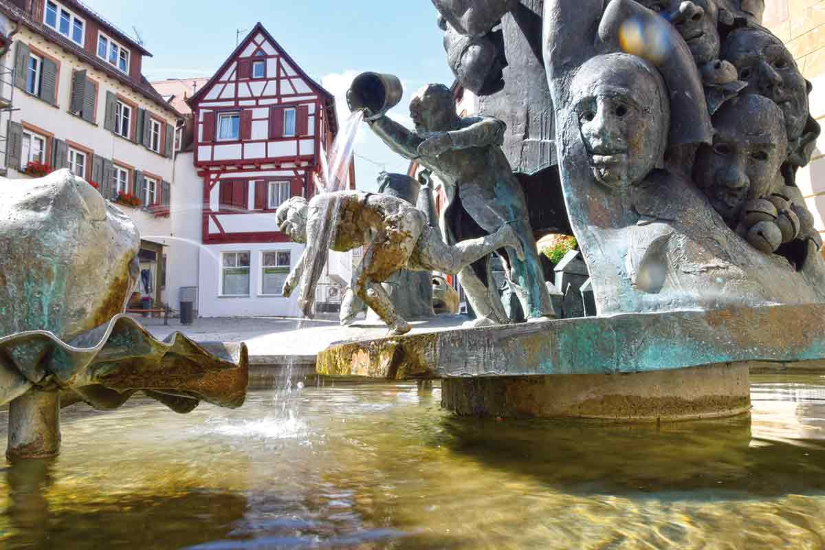 Narrenbrunnen Riedlingen