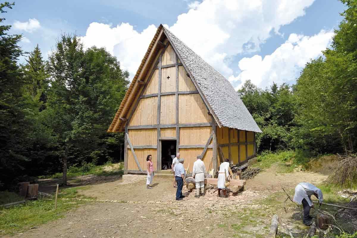 Auf dem Campus Galli in Meßkirch: Leben wie im frühen Mittelalter