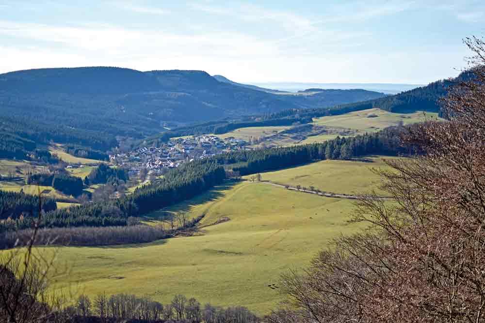 Blick über die Hochalbfläche bei Oberdigisheim
