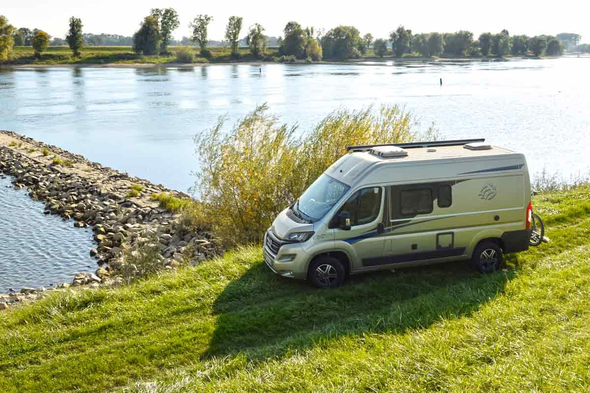 Wohnmobilreisen an der Donau: Spontan. Sicher. Frei