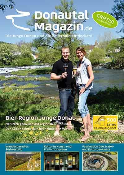 Titelblatt mit Melanie und Alex Giammarinaro