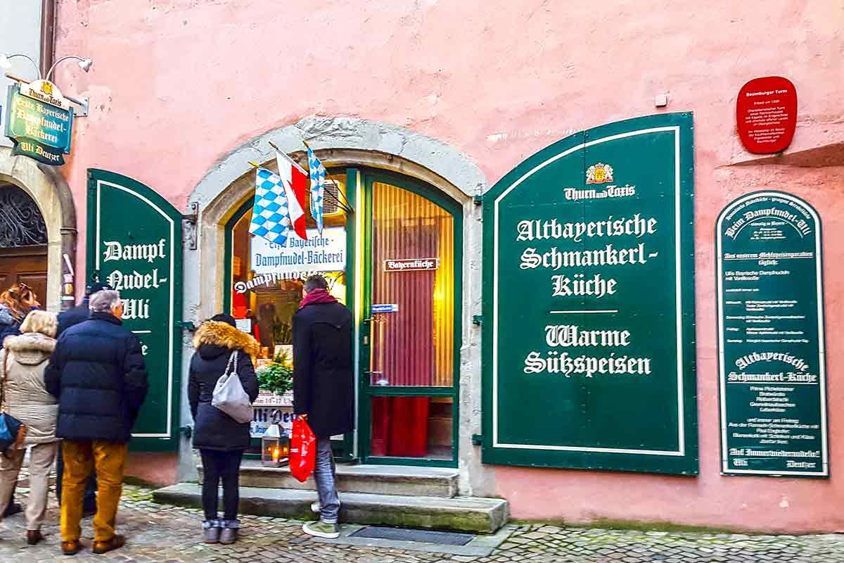 Damppfnudel-Uli in Regensburg