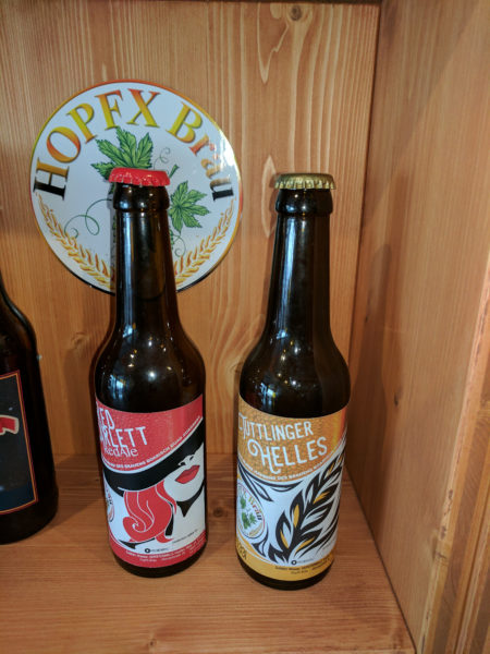 HopfX Bräu Biersorten