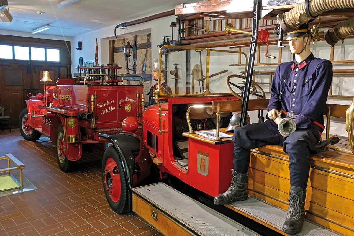 Im Feuerwehrmuseum Riedlingen
