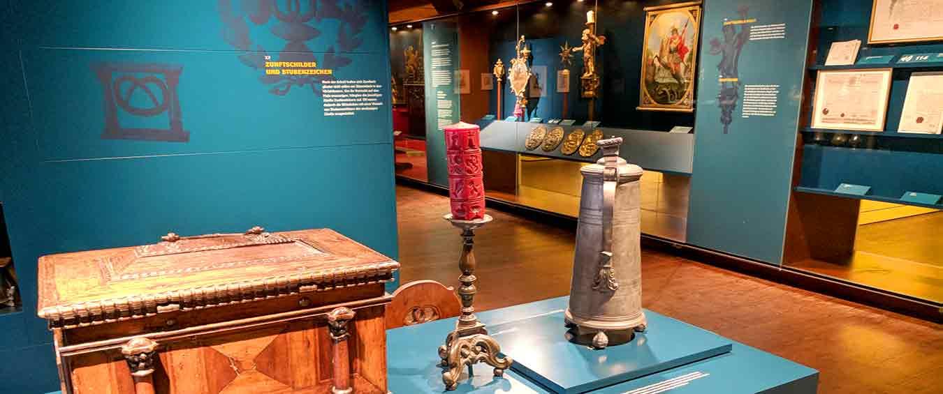 Blick in Museumsausstellung