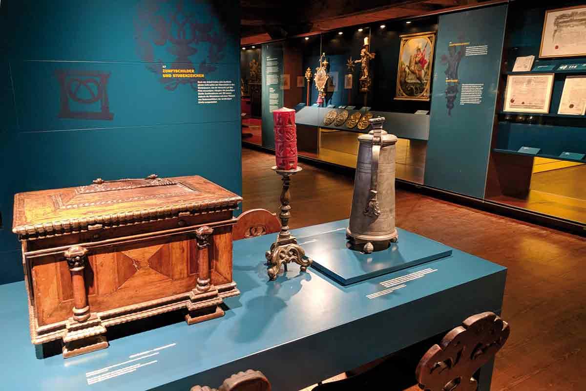 Ausstellung im Museum der Brotkultur