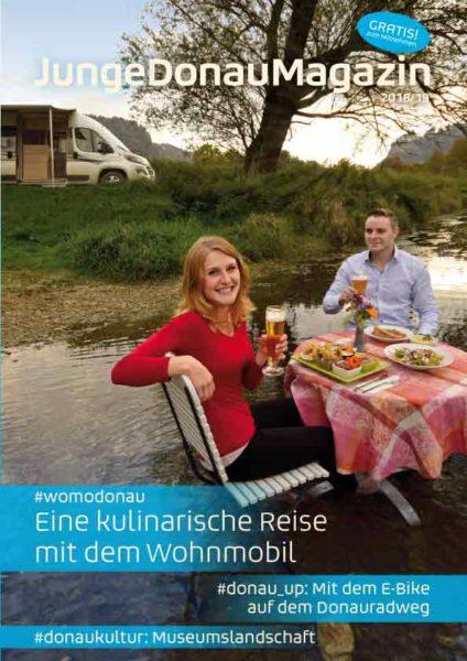 Junge Donau Magazin 2018 Cover