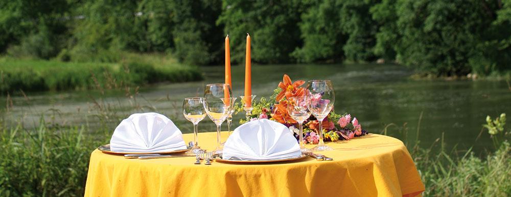 Käppeler Hof - gedeckter Tisch