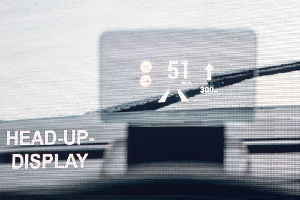 Knaus Tabbert Head-up-Display