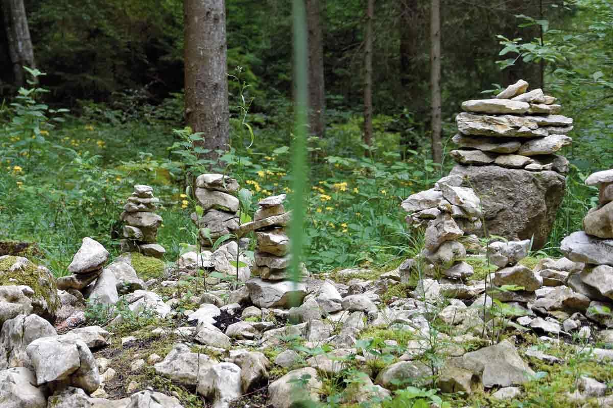Märchengarten an der Kolbinger Höhle