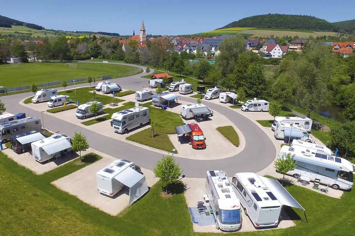 Stellplatz Geisingen: Mit dem Wohnmobil ins Herz der Baar