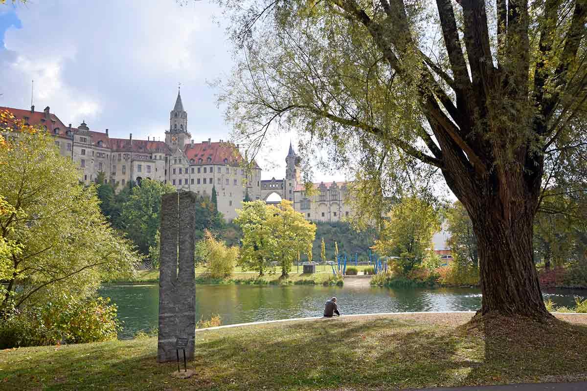 Schloss Sigmaringen mit Donaupromenade