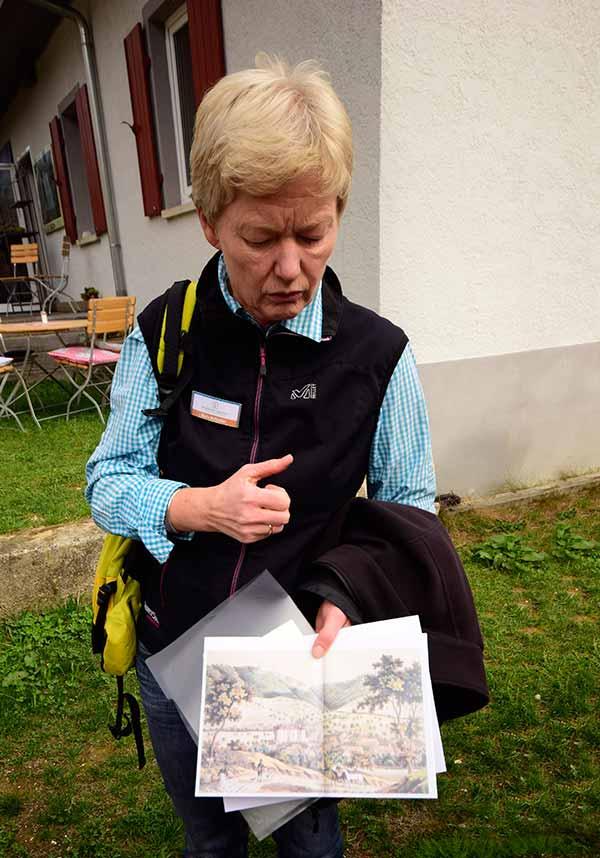 Gästeführerin Maria von der schwäbischen Landpartie