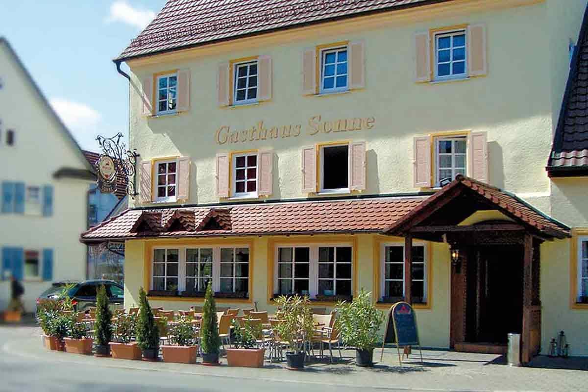 Schmeck den Süden im Landgasthof Sonne, Wurmlingen