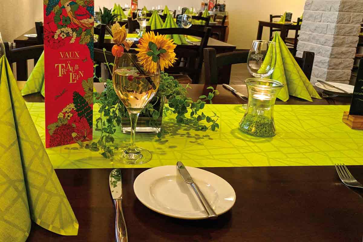 Gedeckter Tisch im Wiesengrund Immendingen-Zimmern