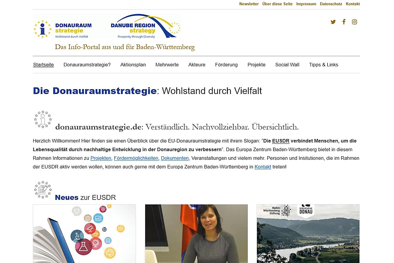 Donauraumstrategie.de