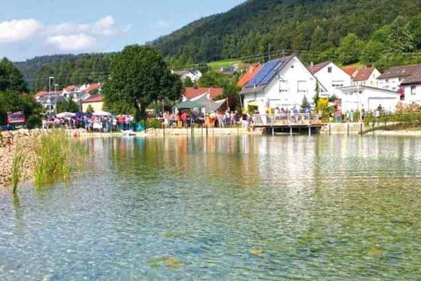 Fest am Teich